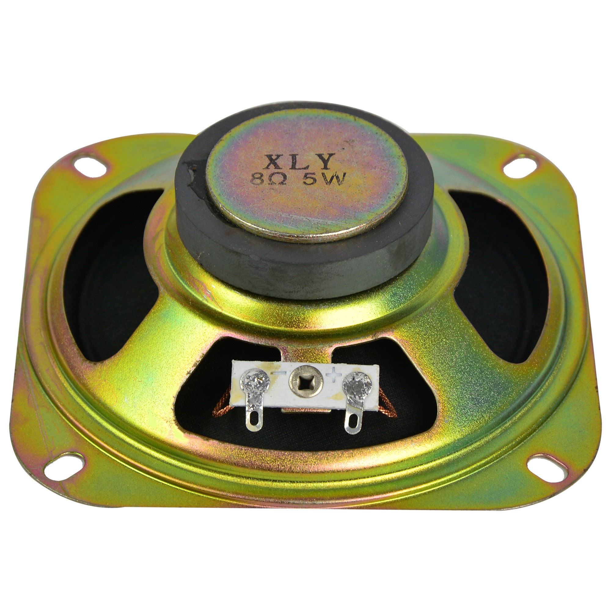 mengs 5w 8 ohm metal round internal magnet speaker for box s