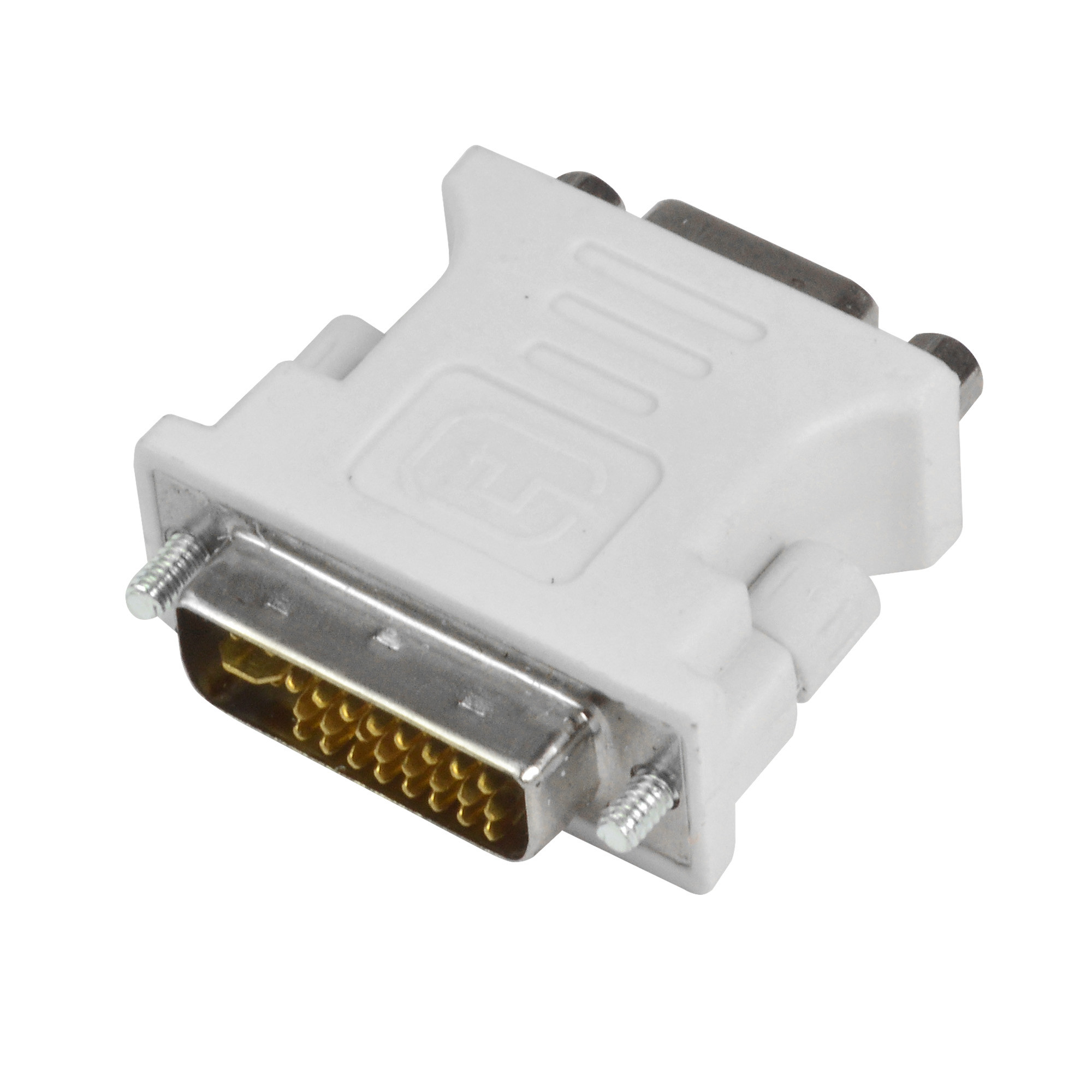 MENGS® DVI 24+5 Pin Male To 15 Pin VGA Female Adapter Converter for PC and HDTV
