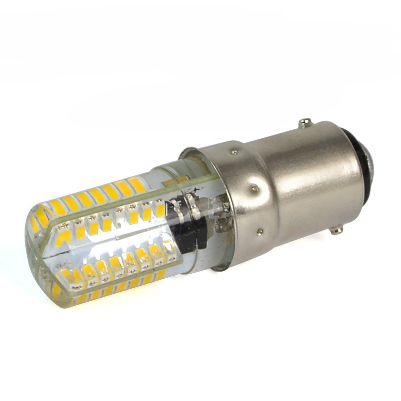 MENGS® B15D 3W LED Light 64x 3014 SMD LEDs LED Lamp Bulb in Warm White Energy-saving Light