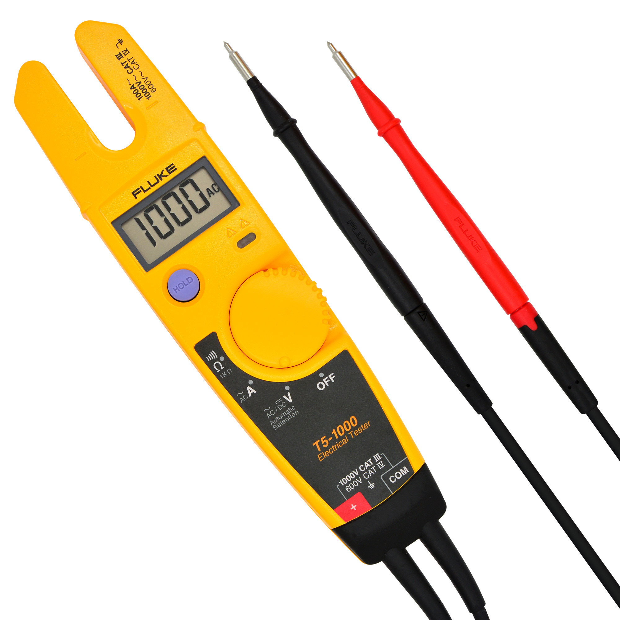 FLUKE® T5-1000 Voltage Continuity and Current Tester