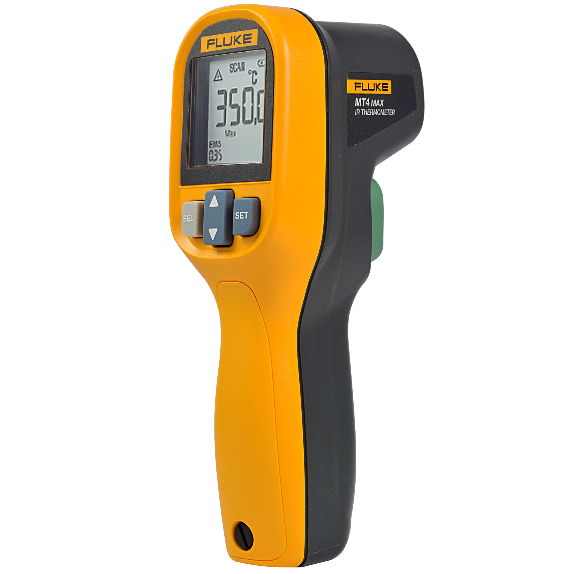 FLUKE® MT4 MAX IP40 Waterproof Infrared Thermometer (-30-350°C) with LCD Backlit and High/Low Temperature Alarm