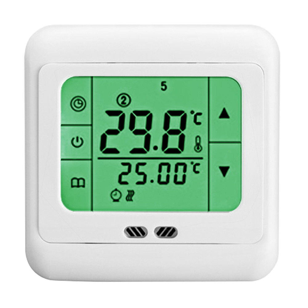 MENGS® C07.H3 7 Days Programmable Heating Thermostat with LCD Touch Screen PC For Home School Office Business area
