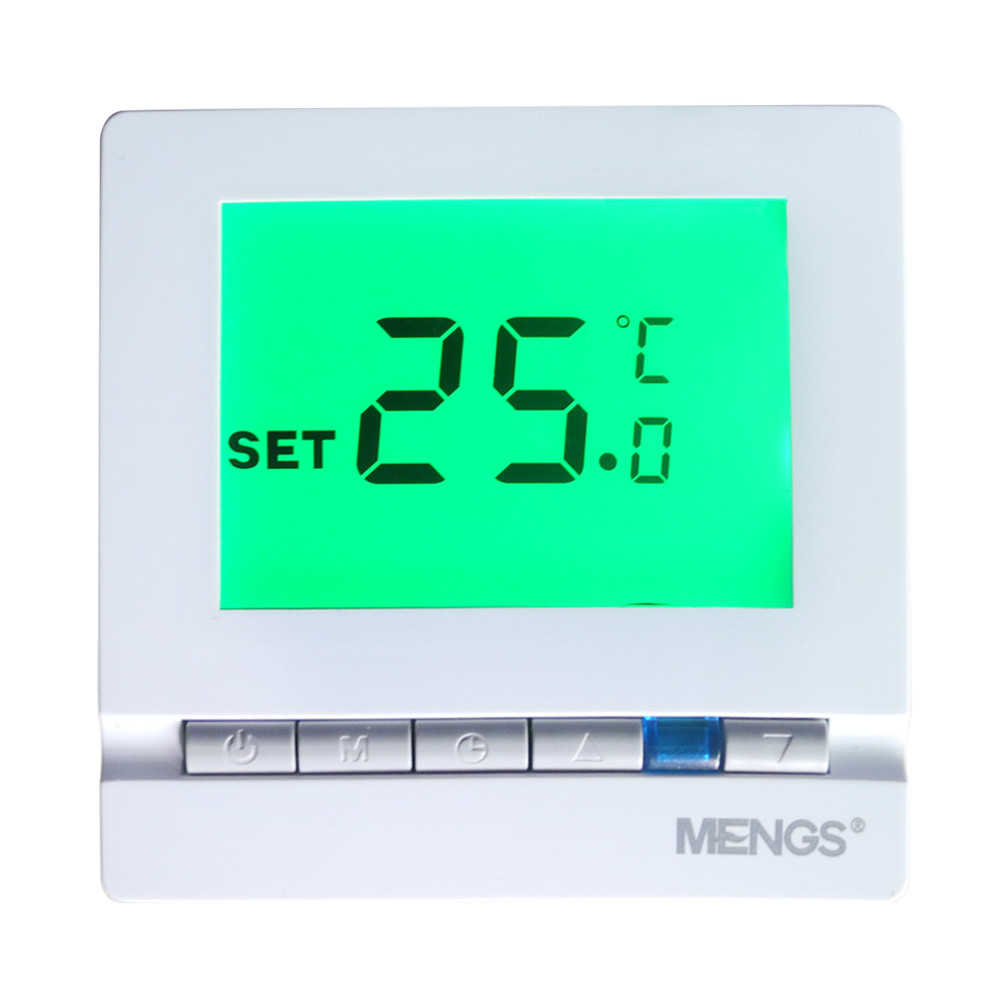 MENGS® C03.H3 Heating Thermostat with LCD Display PC For Home School Office Business area