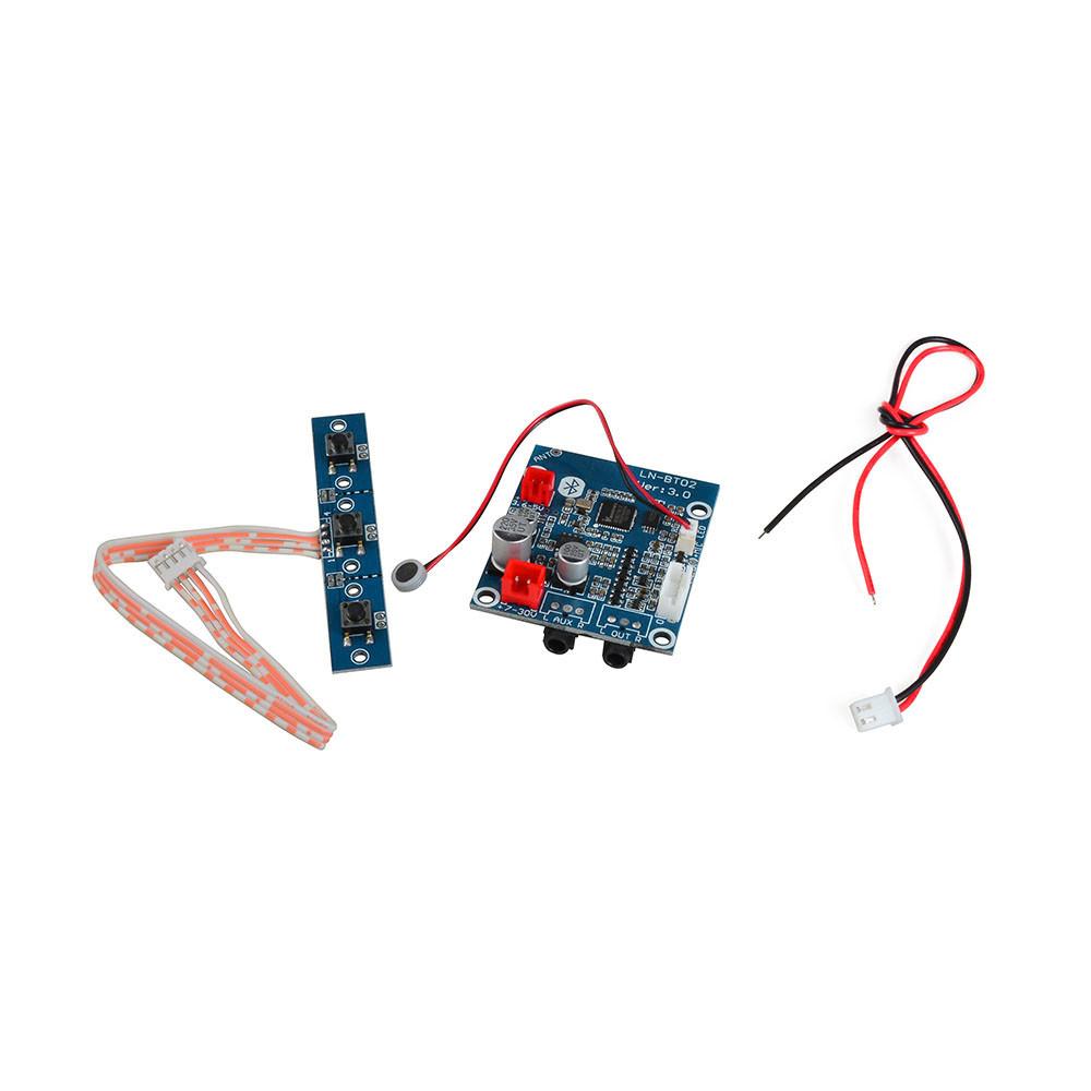 Mengs Ln Bt02 B Bluetooth Audio Receiver Board With Microphone For Led Circuit Series 5b15dledcircuitjpgd Diy Speaker