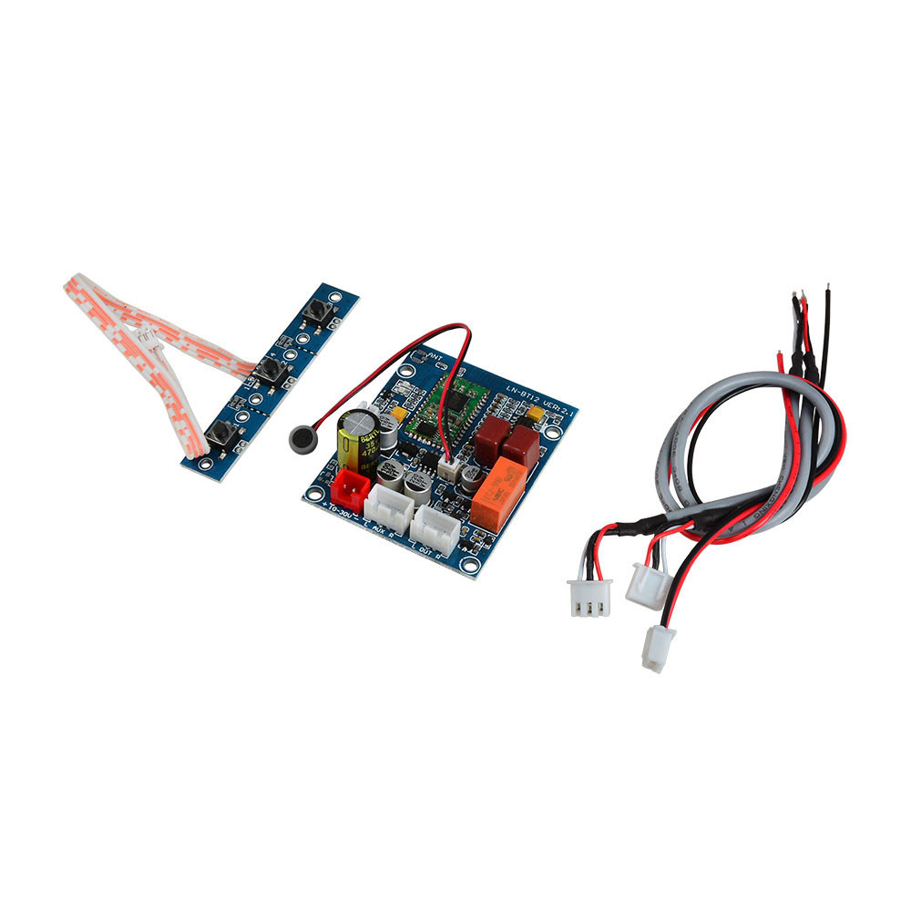 MENGS® LN-BT12 v2.1 Bluetooth Audio Receiver Board with Microphone For DIY Speaker