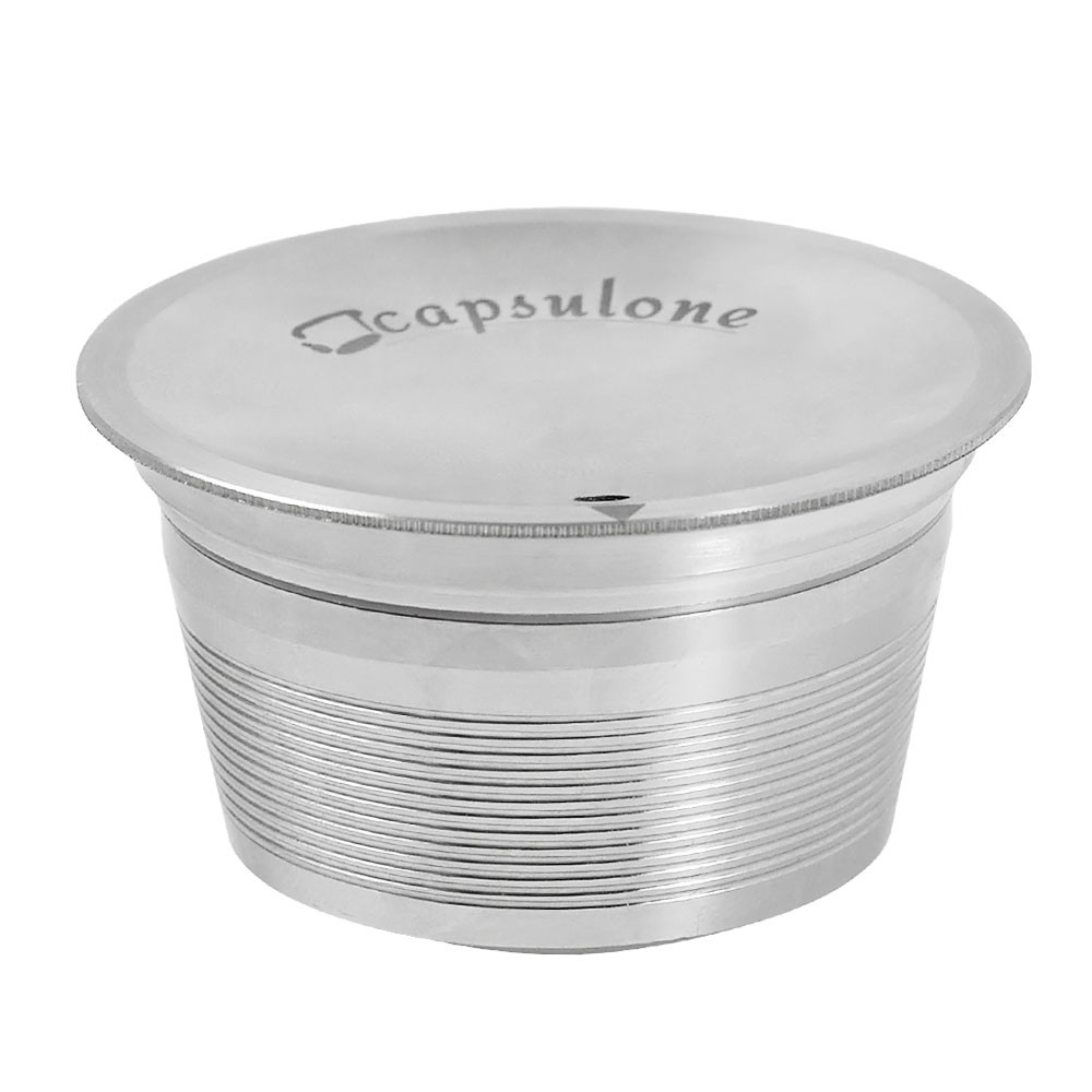 CAPSULONE® Stainless Steel Reusable Refillable Coffee Capsule Machine Compatible Dolce  Gusto Coffee Machine