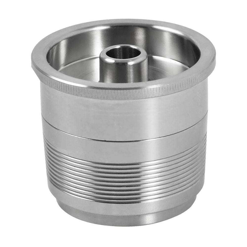 MENGS® Stainless steel refillable capsule compatible with illy coffee maker machine filter
