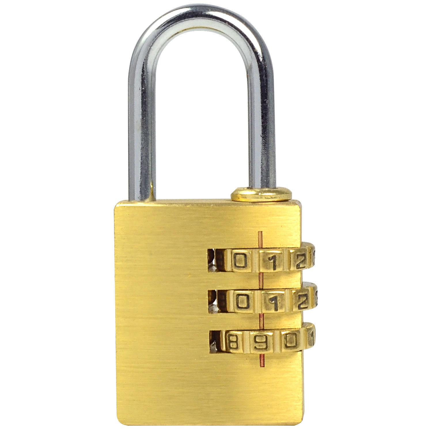 Traveltime Combination Lock 545 Silver Studio Tas Source MENGS MG253 Full Brass Combination .