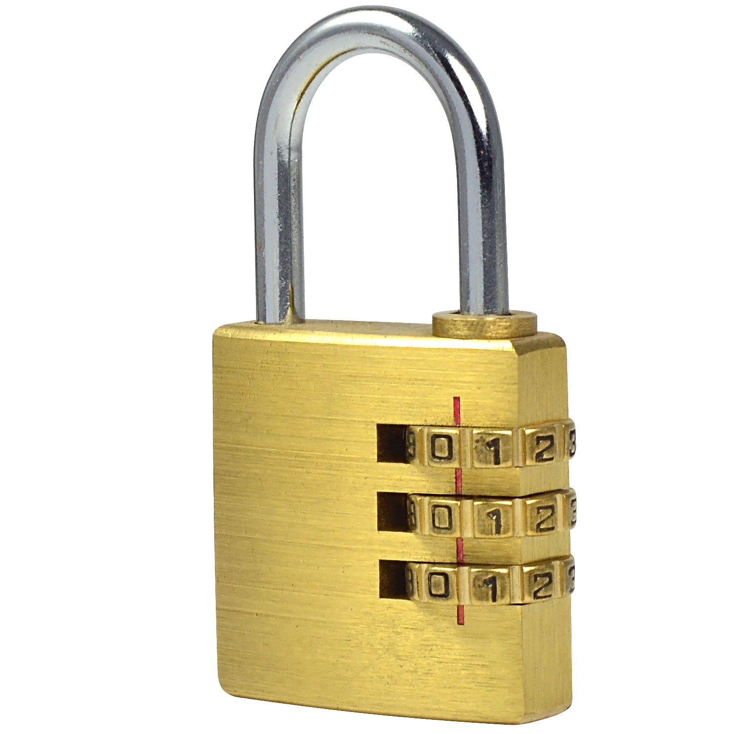 how to break a 3 number combination lock