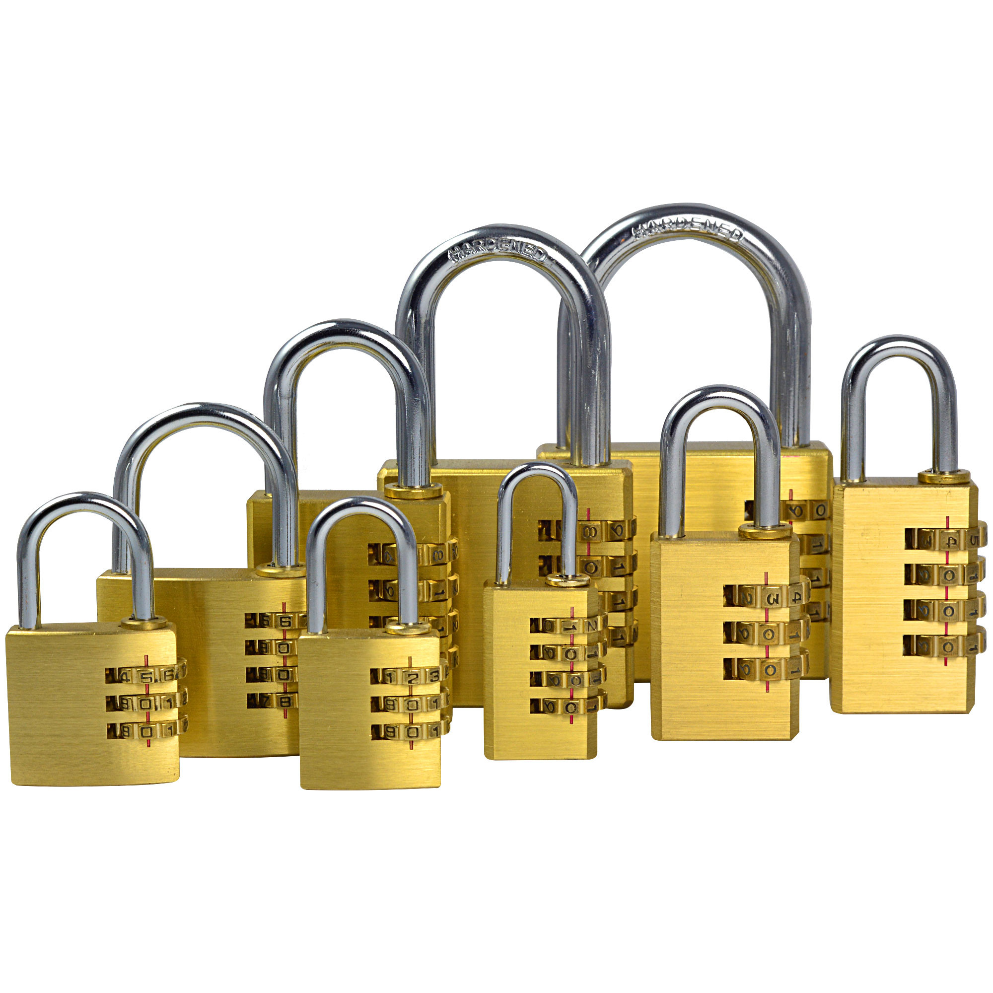 Travel Time Combination Lock 545 Silver Daftar Update Harga Source · MENGS One Set Of 9 Pieces Full Brass Password Code Lock Combination Padlock Resettable ...