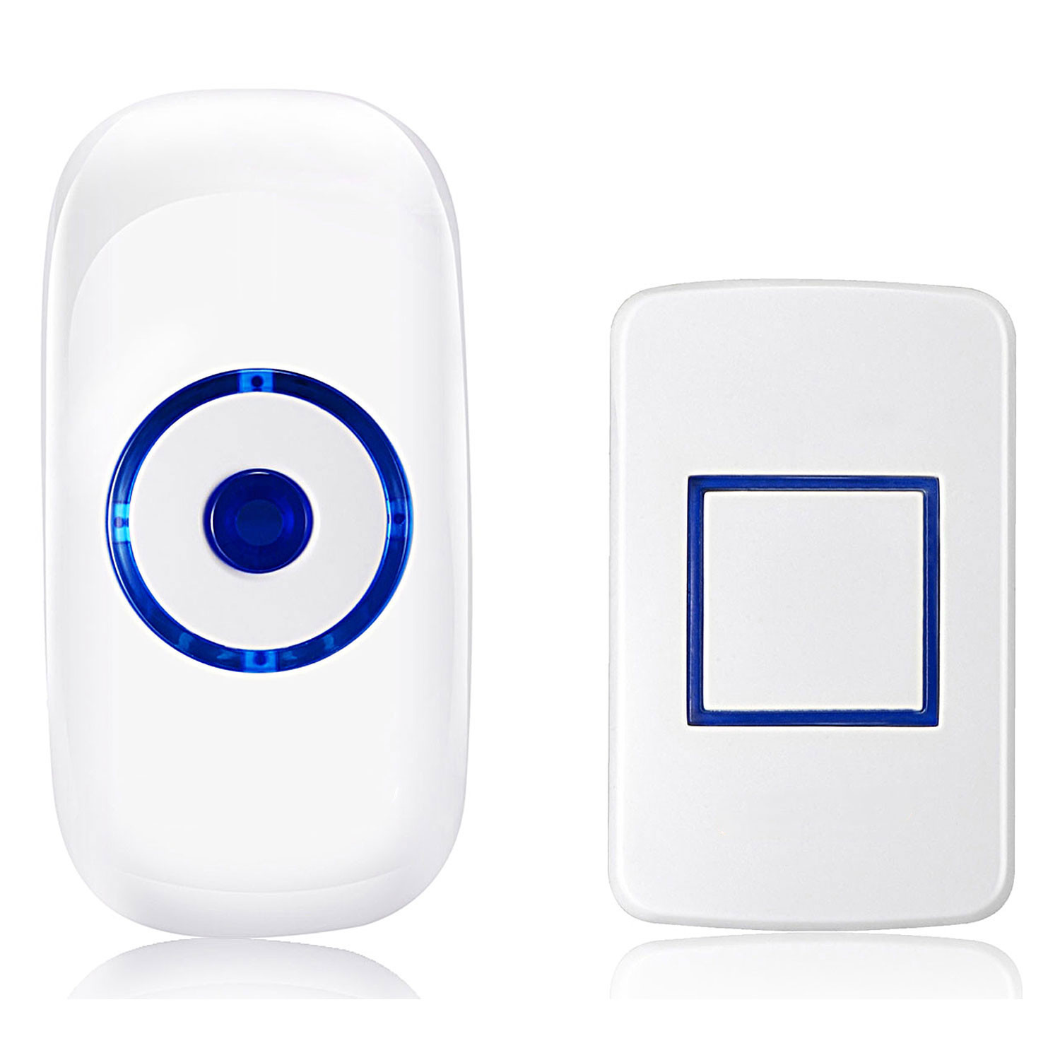 MENGS® Wireless Samrt Doorbell with one Receivers Supporting 300 Range 36 varied Bell Rings for Home ,Office ect