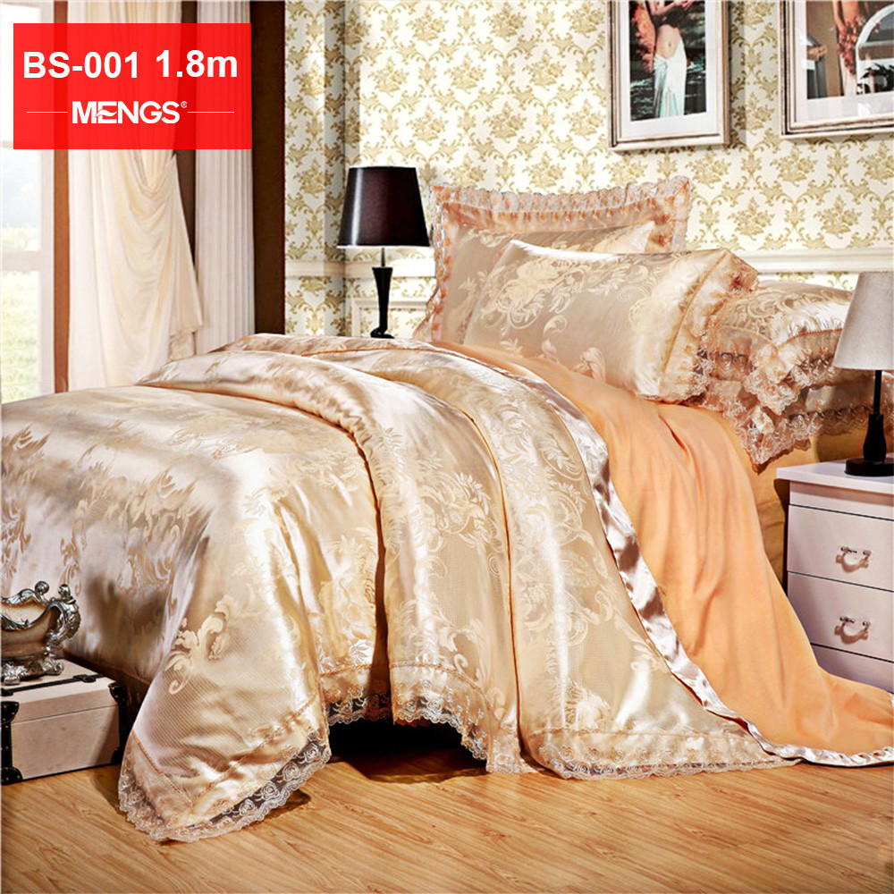MENGS® BS-001 1.8M(Width) High-end Bed Sheet Set Lining: 100% Cotton; Fabric: 62% Modal + 38% Cotton For Bedroom, Guest room, RV, Vacation home