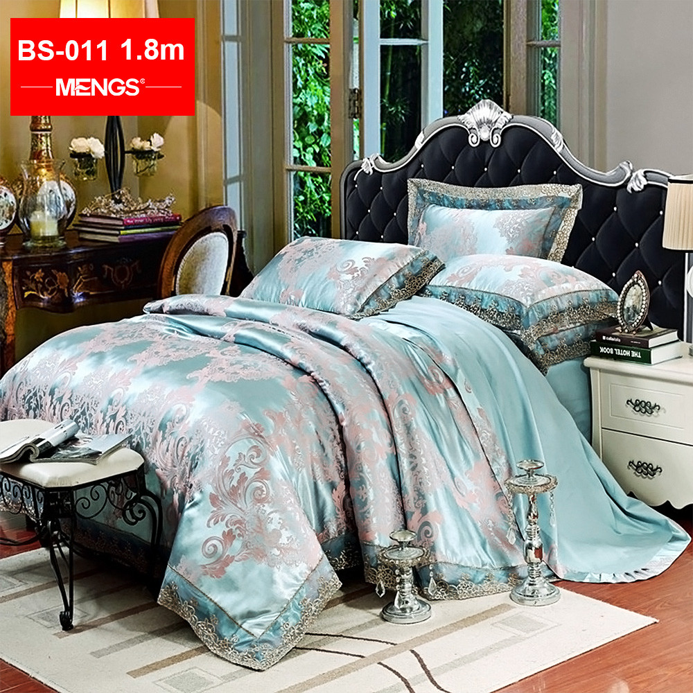 MENGS® BS-011 1.8M(Width) Comfortable Bed Sheet Set Lining: 100% Cotton; Fabric: 62% Modal + 38% Cotton For Bedroom, Guest room, RV, Vacation home