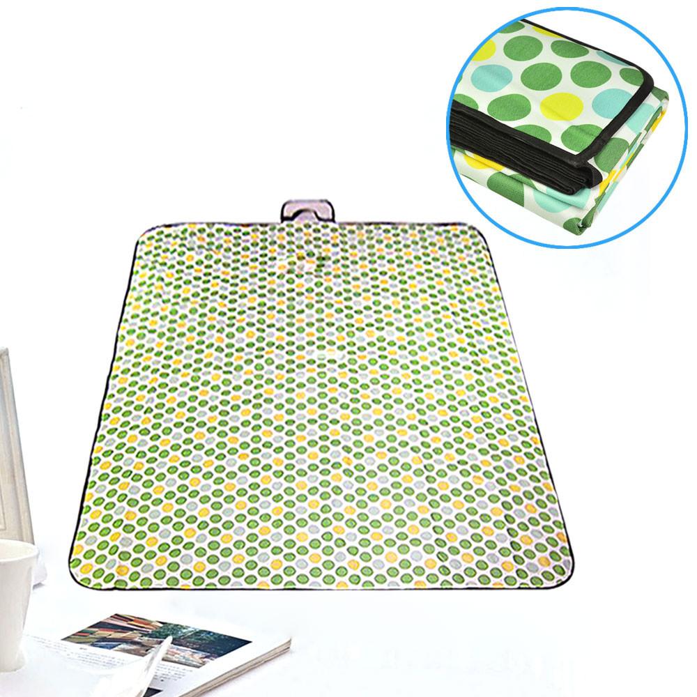 MENGS® 150 x 200cm Folding Blanket Camping Outdoor Beach Festival Waterproof Backing Picnic Rug Mat