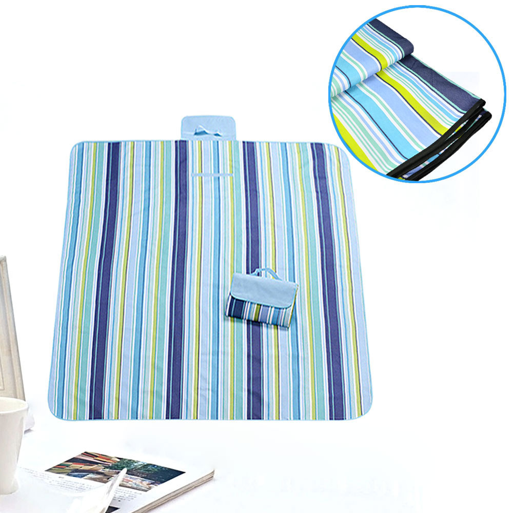 MENGS® 150x200cm Tartan Folding Picnic Blanket Camping Moistureproof Sleeping Mattress Beach Outdoor Travel Mat