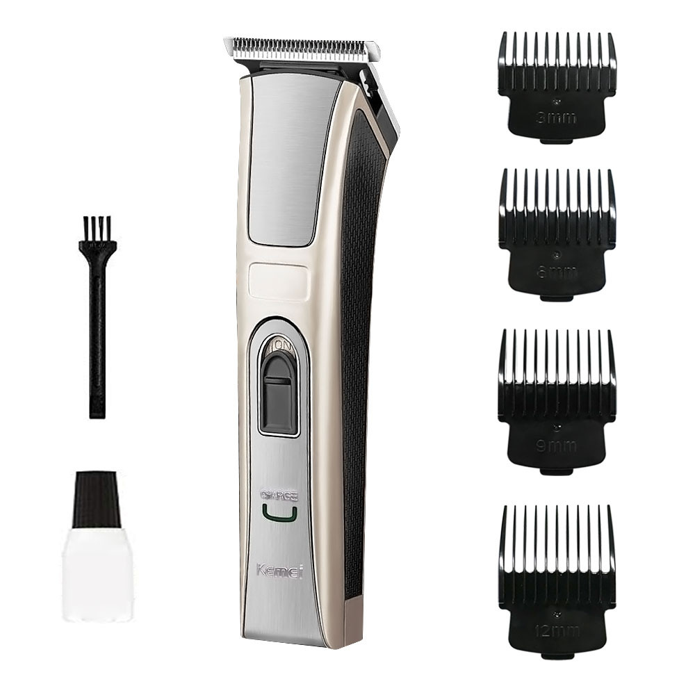 KEMEI® Electric Clipper For Baby Child Pet Men Professional Haircut Kit USB Rechargeable 4 Comb Trimmer Barber