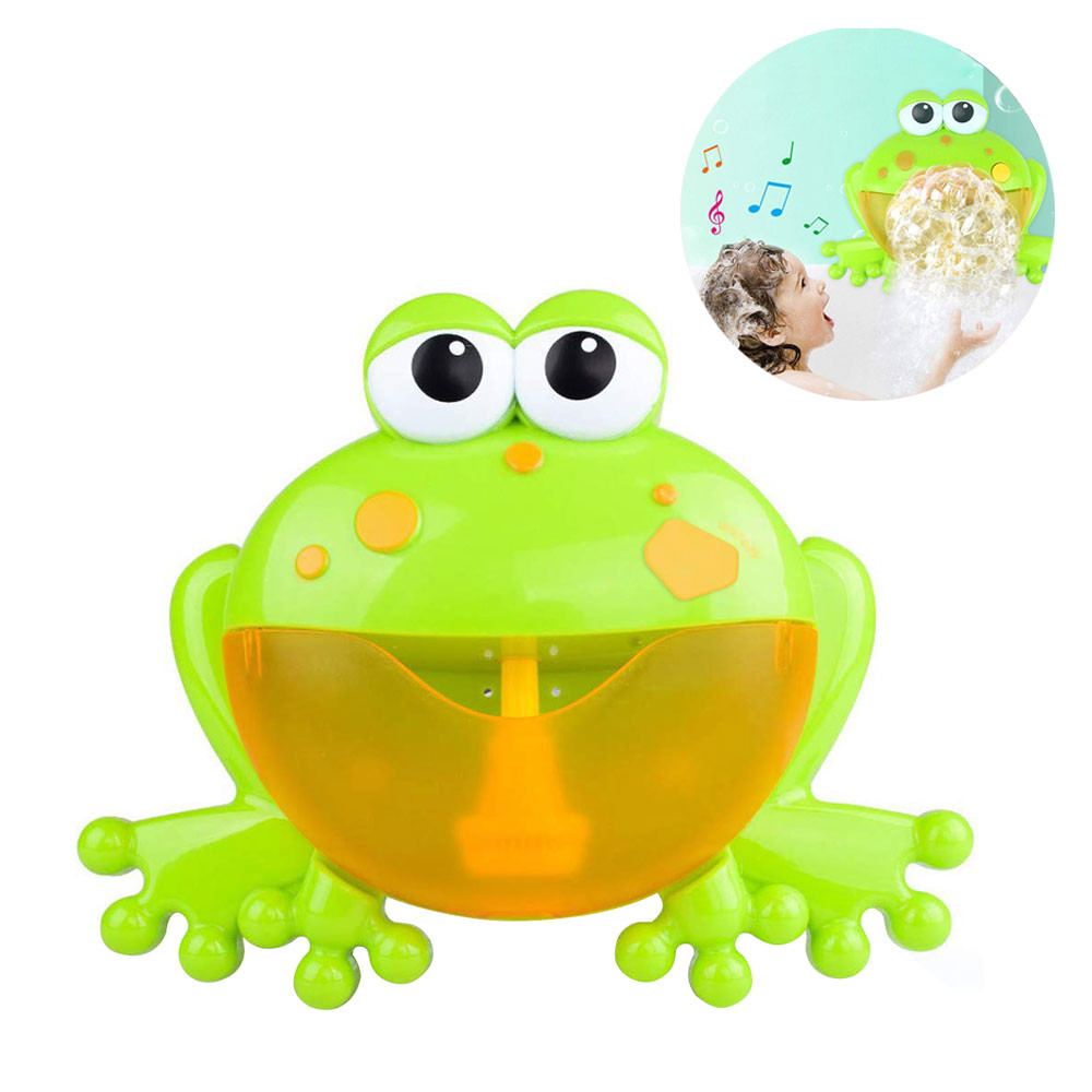 MENGS® Frog Bubble Machine Music Nursery Rhyme Bubble Blower  for children under 3 years old