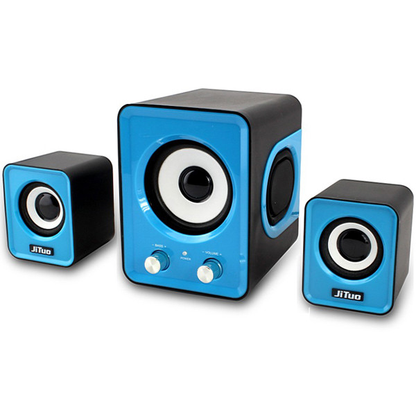 Jt2802 Mini Subwoofer Speaker 2 1 Stereo Bass Multimedia Speaker For Pc Laptop Mp3 Mp4 Mp5 Smart