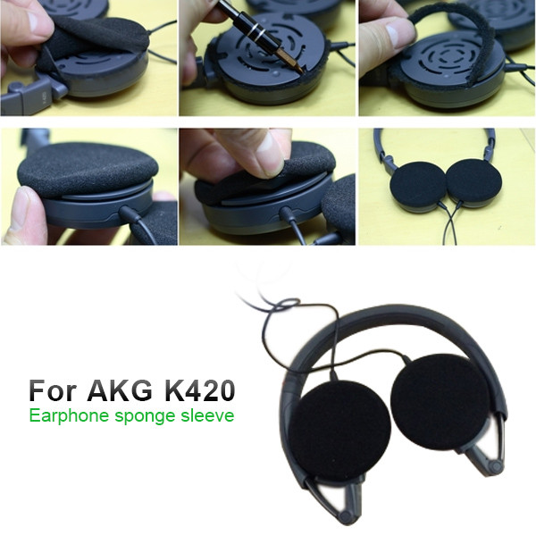 MENGS® Sponge Ear Pad For AKG K420 Headphone