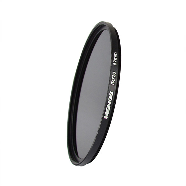 MENGS® 67mm IR720nm Infrared Lens Filter with Aluminum frame For Canon Nikon Sony Pentax Olympus Etc DSLR