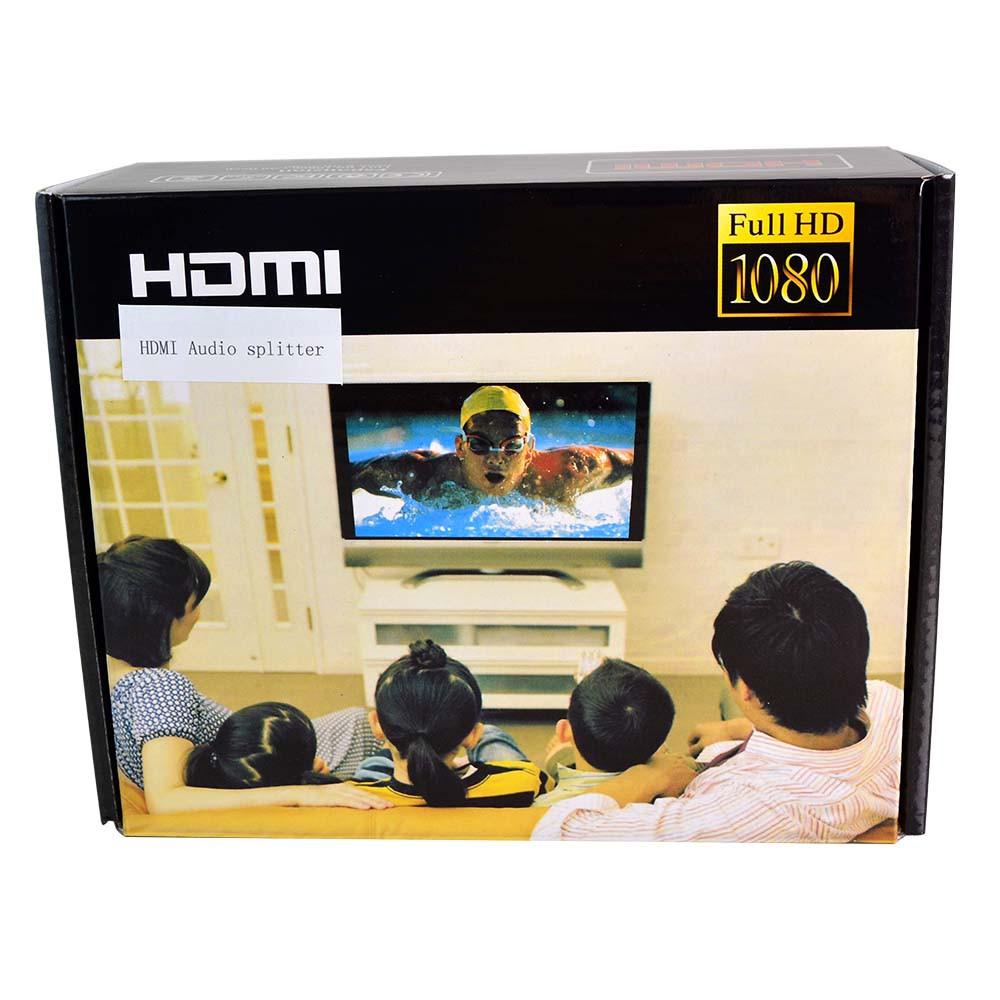 1080P HDMI to HDMI + Optical S/PDIF or RCA L/R Audio