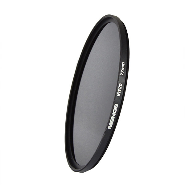 MENGS® 77mm IR720nm Infrared Lens Filter with Aluminum frame For Canon Nikon Sony Pentax Olympus Etc Camera
