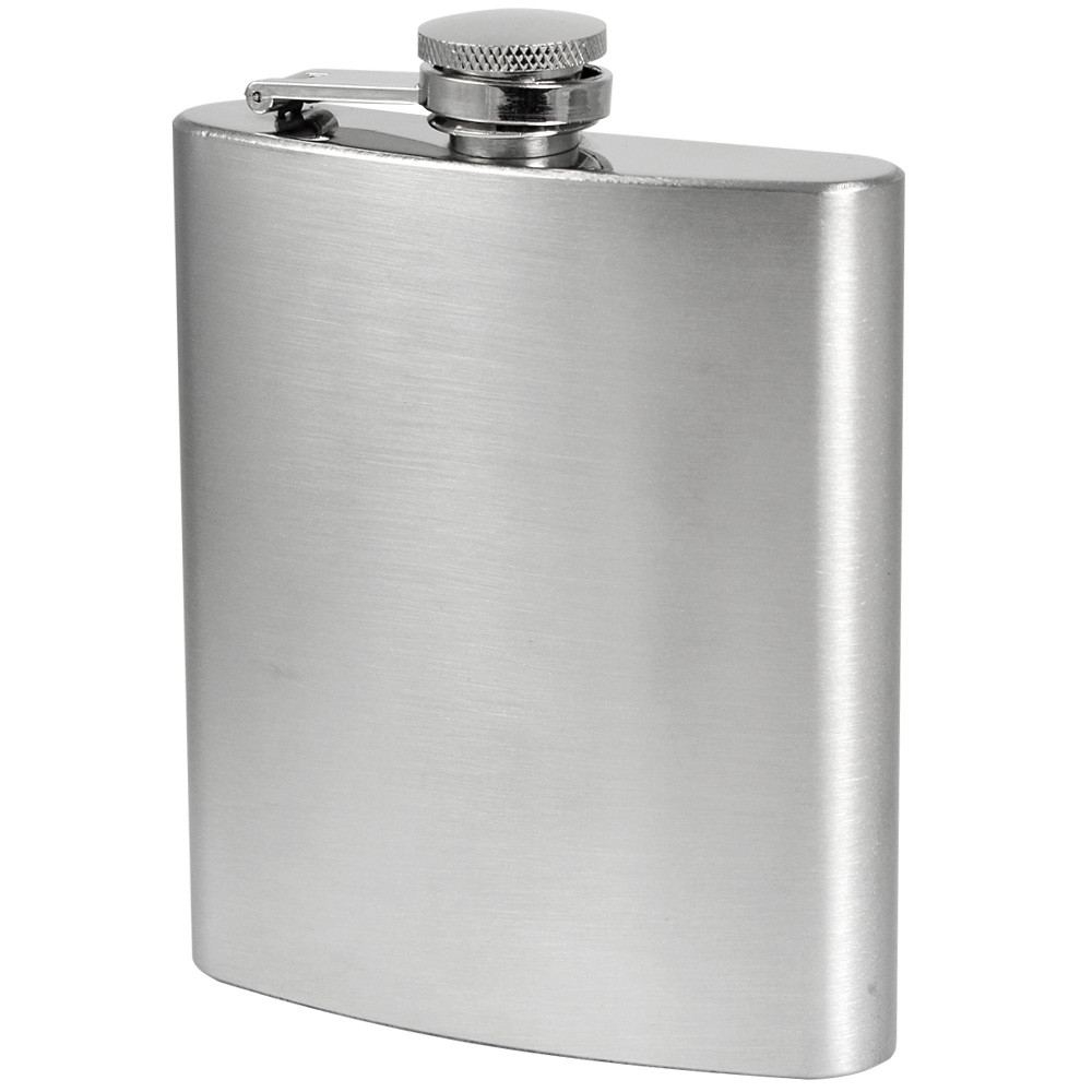 MENGS® 7oz Hip Flask With Stainless Steel Ideal For Liquor / Whisky / Vodka Or Alcohol - Perfect Gift