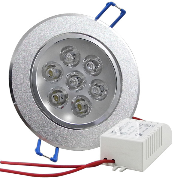 MENGS® 7W LED Downlight Ceiling Recessed Lamp Spotlight in Warm White Energy-Saving Lamp