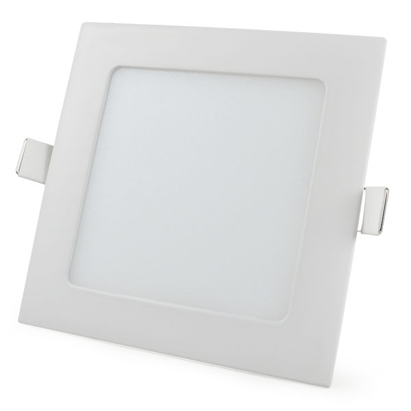 MENGS® 9W Square LED Recessed Ceiling Panel Light 45x 2835 SMD LEDs LED Bulb Lamp in Warm White Energy-saving Light