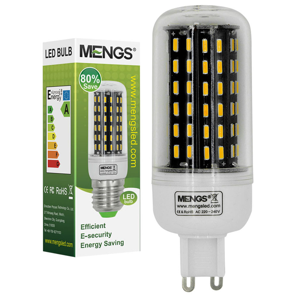 MENGS® G9 9W LED Corn Light 96x 4014 SMD LED Lamp Bulb In Warm White Energy-Saving Light