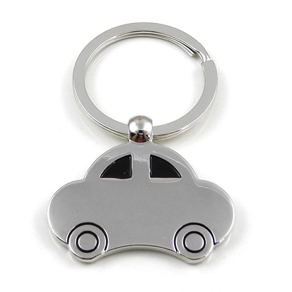 MENGS® Fashion Shape of The Car Keychain Double Faced Beetle Classic Car Keyring Cochleare Ring