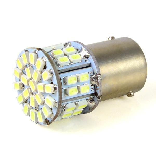 MENGS® 1156 BA15S 3W LED Car Light 50x 3020 SMD LEDs LED Lamp LED Brake / Anti-Fog / Reversing Light in Cool White Energy-Saving Light