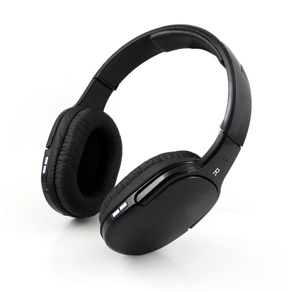 MENGS® BT-911 Bluetooth Wireless Headset Stereo Headband music Headphone with Microphone Handsfree Black