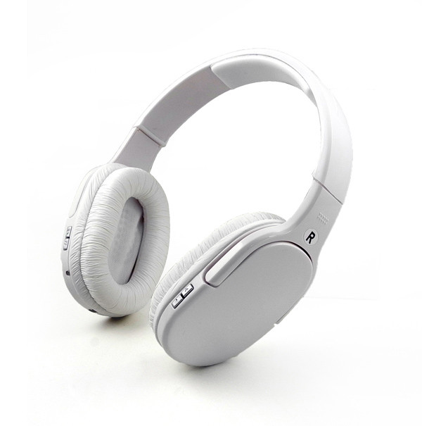 MENGS® BT-911 Bluetooth Wireless Headset Stereo Headband music Headphone with Microphone Handsfree White