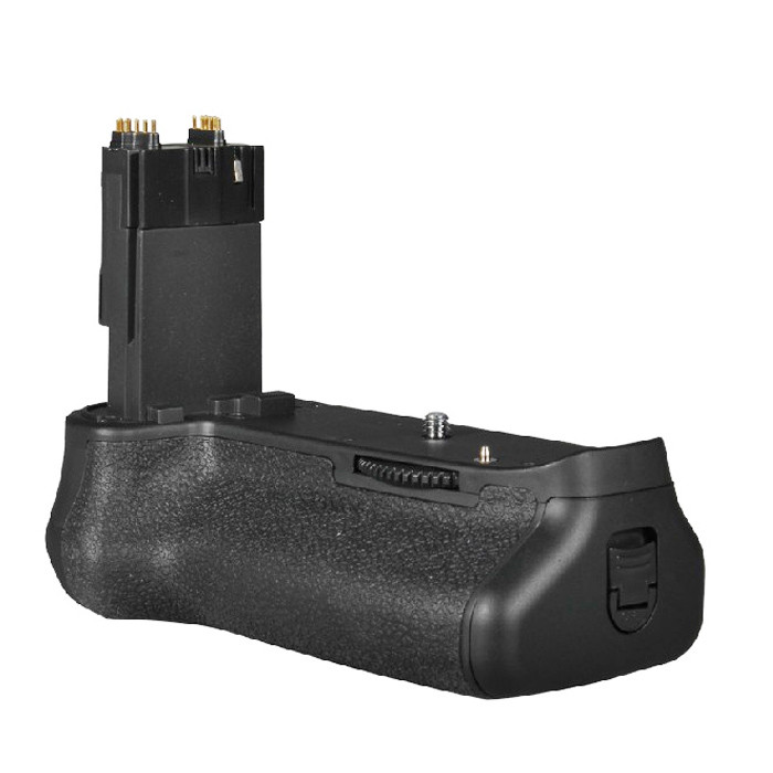 APUTURE® BP-E13 battery grip for Canon EOS 6D which can hold LP-E6 rechargeable battery or 6 AA batteries ( not include )