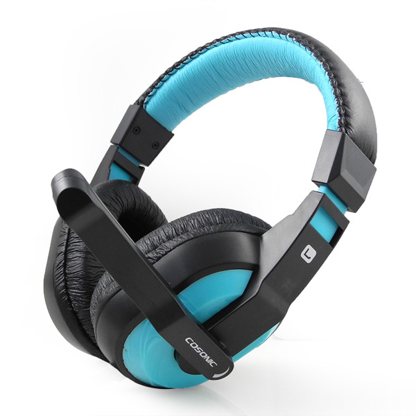 MENGS® CT-770 Stereo 3.5mm Headband Game Headphone With Microphone Blue