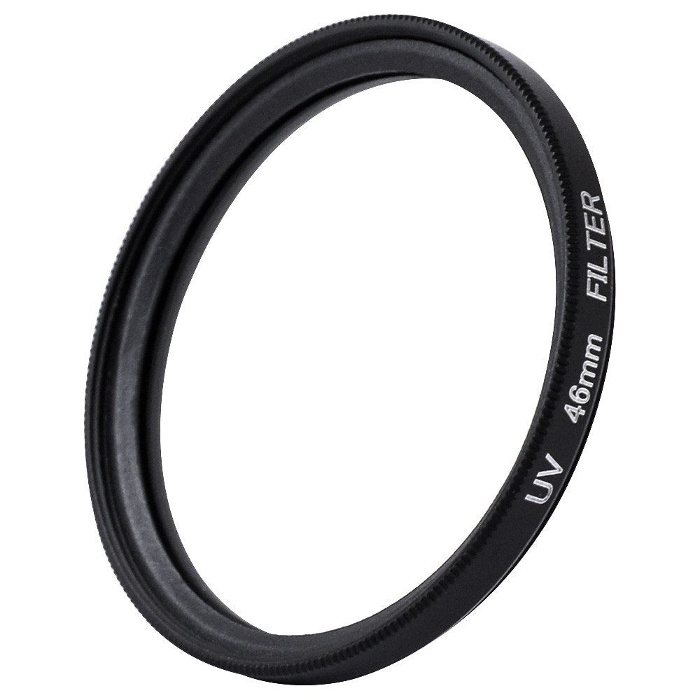 MENGS® 46mm UV Slim Lens Filter With Aluminum Frame for Canon / Nikon / Sony / Fuji / Pentax / Olympus Camera and DSLR