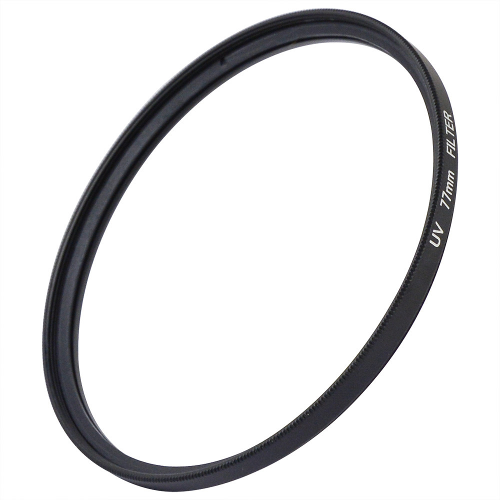 MENGS® 77mm UV Slim Lens Filter With Aluminum Frame for Canon / Nikon / Sony / Fuji / Pentax / Olympus Camera and DSLR