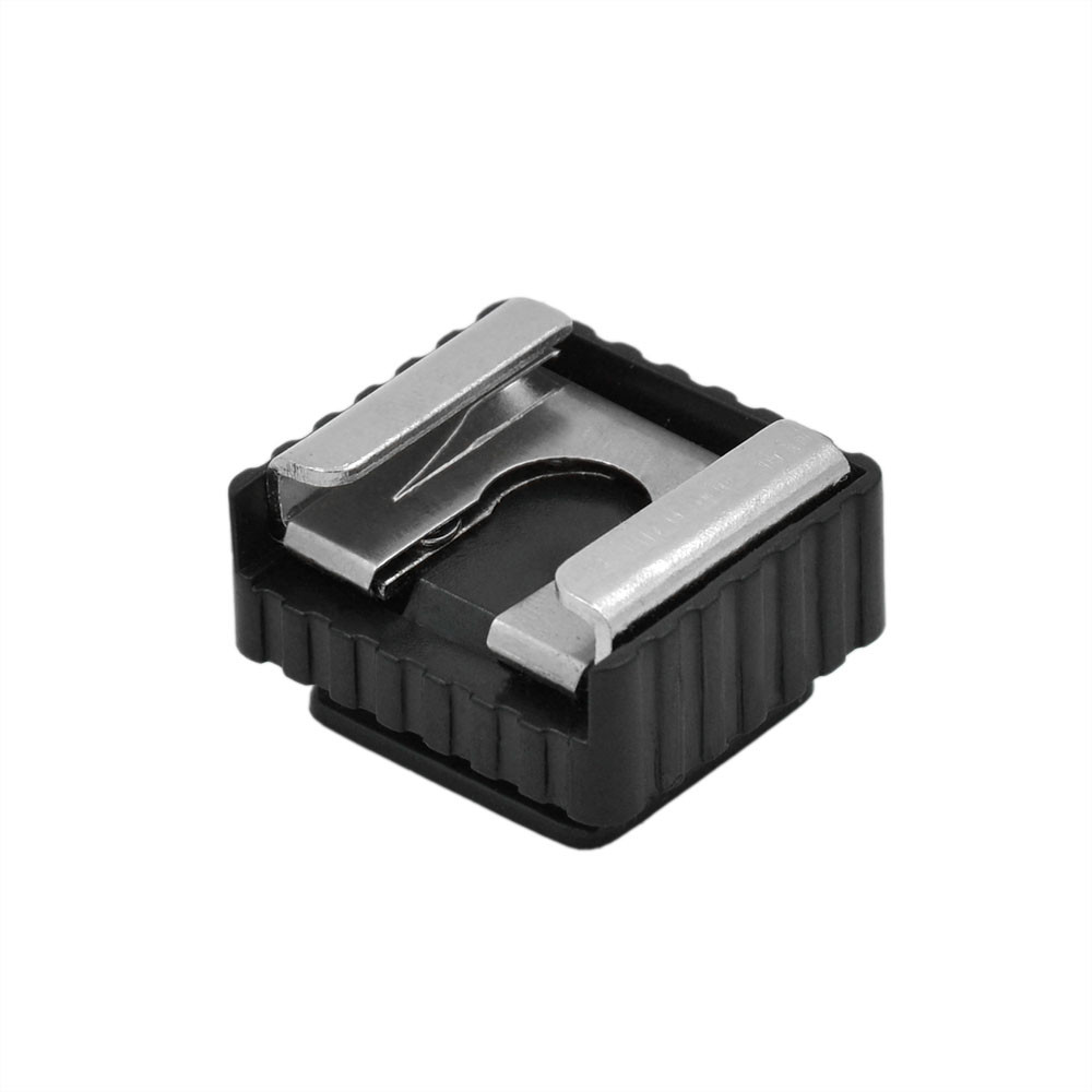 """MENGS® SC-6 Standard Metal Hot Shoe Adapter With 1/4"""" Screw Support 580EXII / 580EX / 430EXII / 430EX Etc Flash Light"""