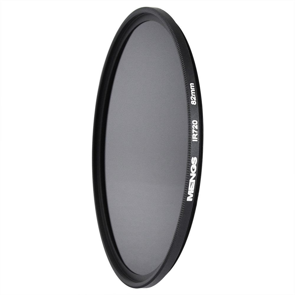 MENGS® 82mm IR720nm Infrared Lens Filter with Aluminum frame For Canon Nikon Sony Pentax Olympus Etc Digital Camera