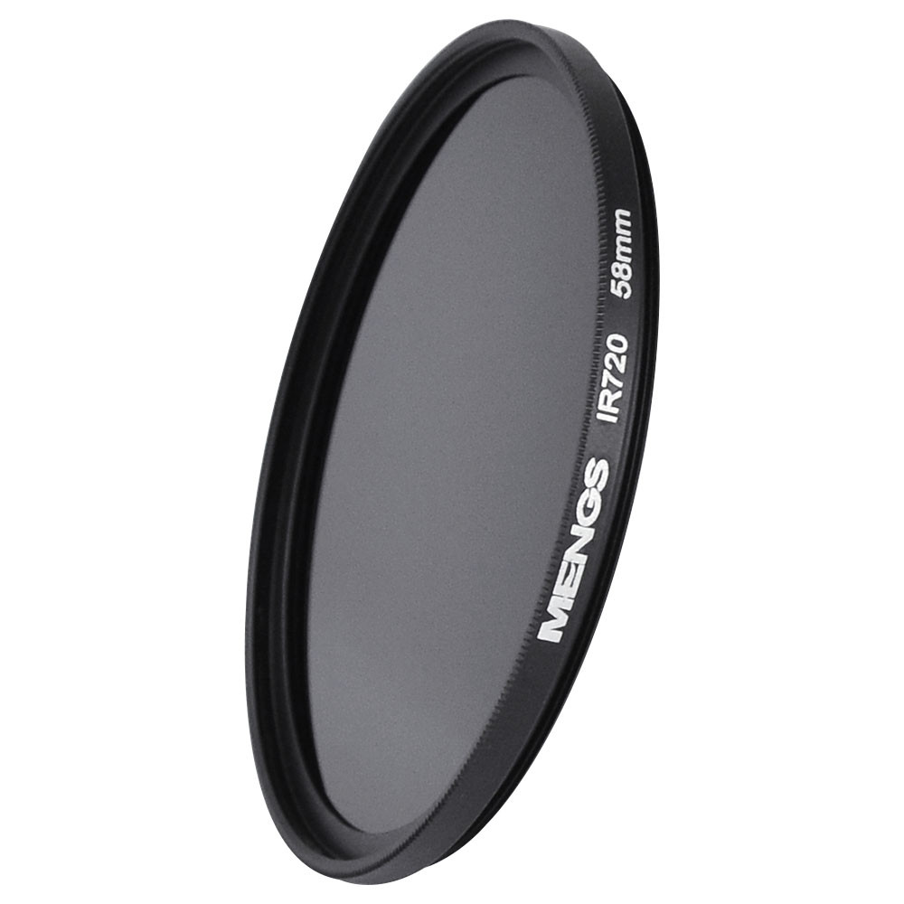 MENGS® 58mm IR720nm Infrared Lens Filter with Aluminum frame For Canon Nikon Sony Pentax Olympus Etc DSLR