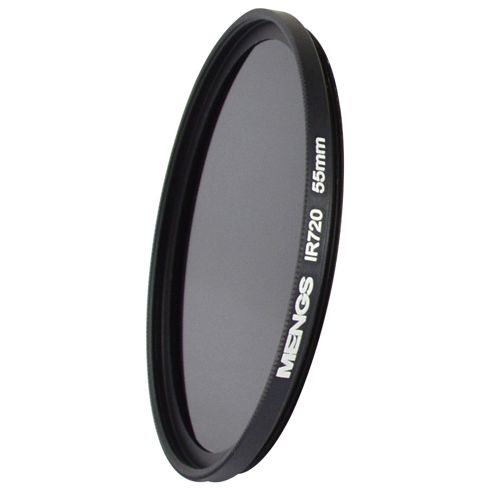 MENGS® 55mm IR720nm Infrared Lens Filter with Aluminum frame For Canon Nikon Sony Pentax Olympus Etc Camera