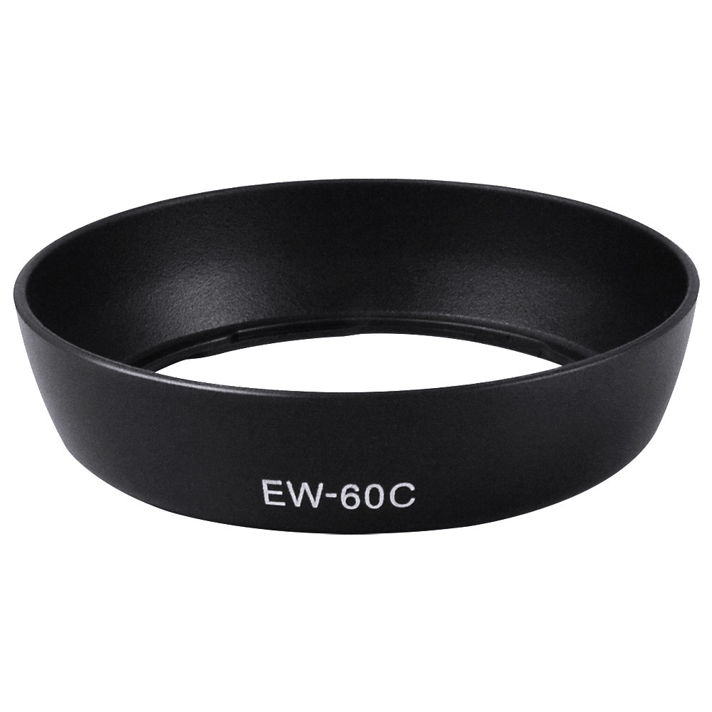 MENGS® EW-60C Bayonet Lens Hood for Canon EF 28-90mm f/4-5.6 II USM, EF-S 18-55mm f/3.5-5.6 USM, EF28-80mm f/3.5-5.6 V USM
