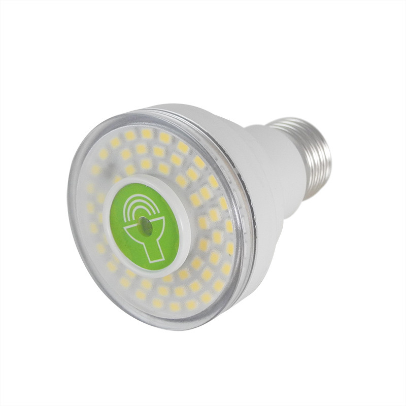 MENGS® E27 7W Sound Control Light Control Sensor Induction Light LED Bulb Lamp For Hallway Corridor in Warm White