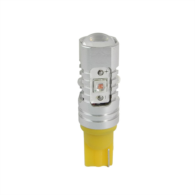 MENGS® T10 25W Yellow LED Car Light for Turning Light / Reading Light / License Plate Light / Anti-Fog Light DC 9-30V Energy-Saving Light