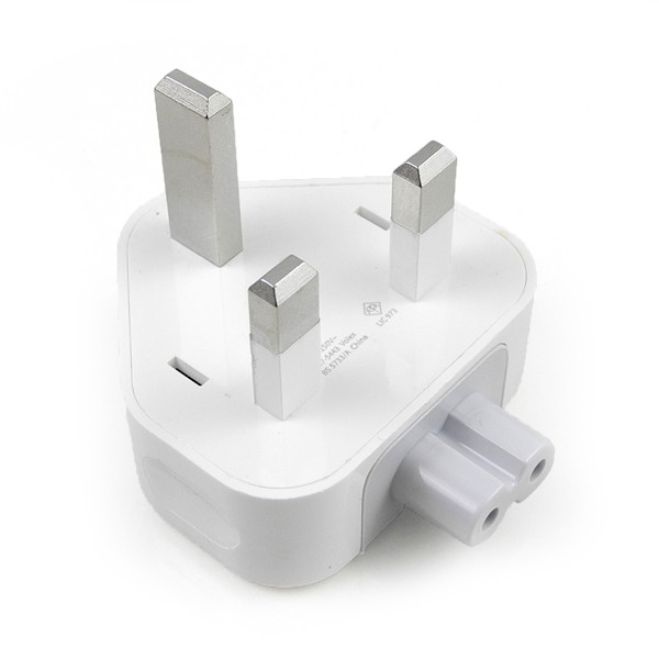 MENGS® 3 Pin UK Travel Wall Adapter Socket AC Power Plug Converter for Apple