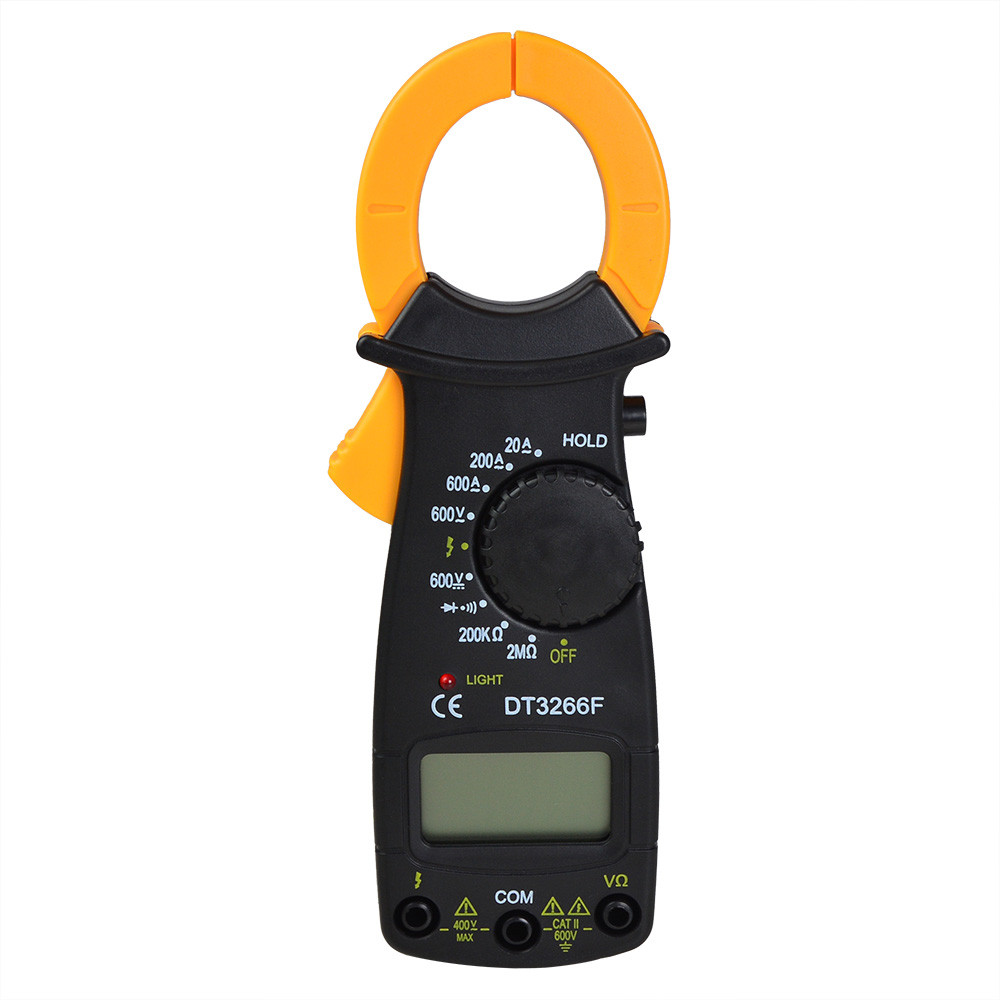 DT3266F Digital Clamp Multimeter Which Measuring AC/DC Voltage, AC ...