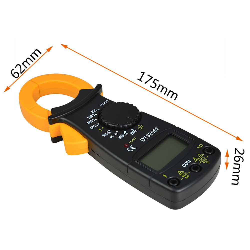 DT3266F Digital Clamp Multimeter Which Measuring AC/DC