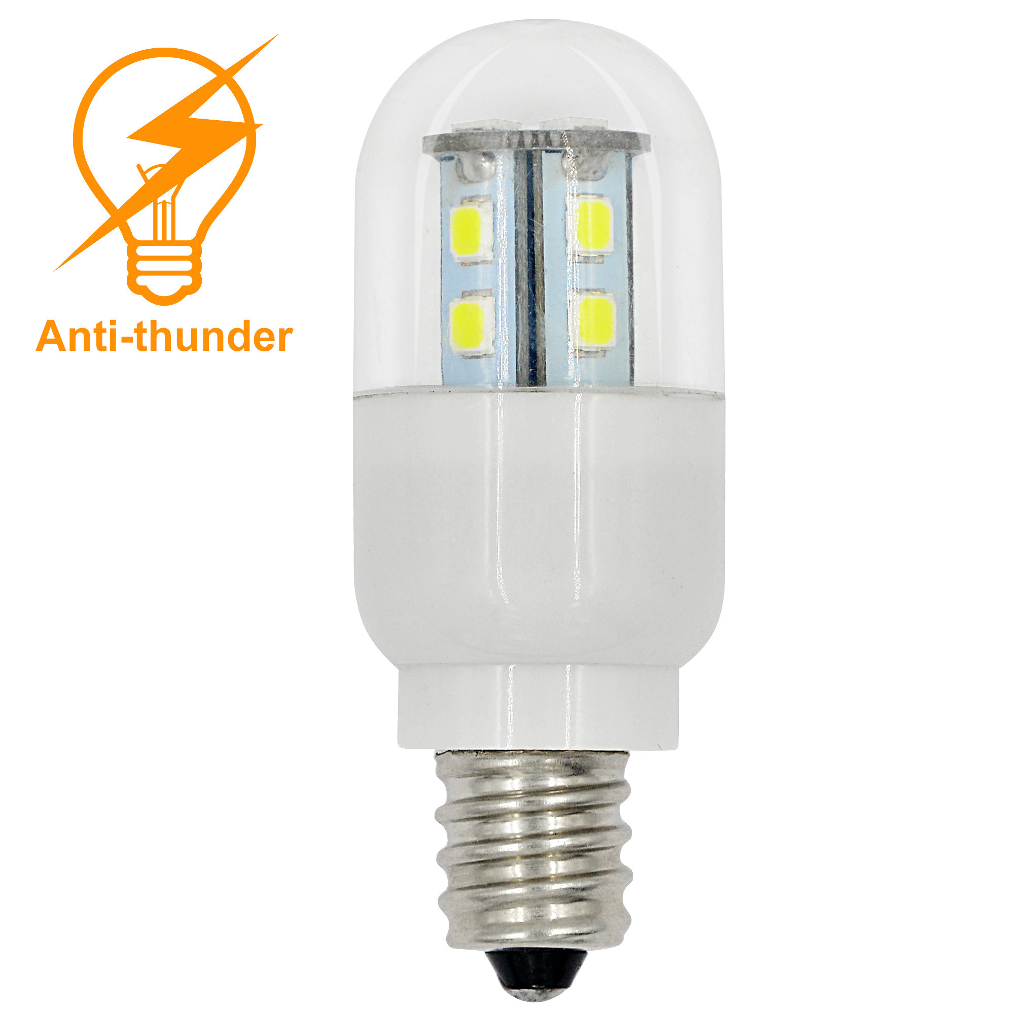 mengs antithunder e12 15w led light 15x smd led bulb lamp - E12 Led Bulb