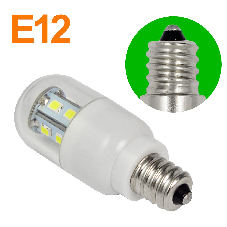 mengs antithunder e12 15w led light 15x smd led bulb lamp in warm white light